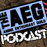 "Cover art for A.E.G. – Episode 5: ""E"" is for Evangelion"