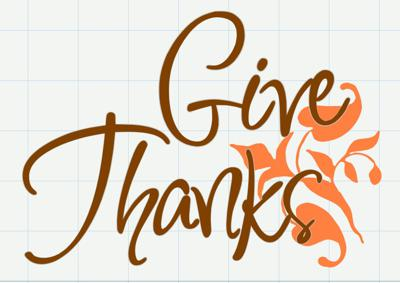 Cover art for Give thanks