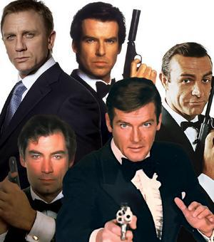 James Bond 50's To Now