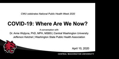 Cover art for COVID-19: Where Are We Now? A Conversation for National Public Health Week 2020