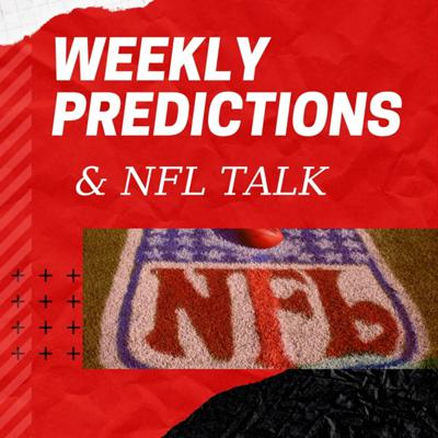 Talking all Football, weekly predictions, free agents, Fantasy and whatever else.
