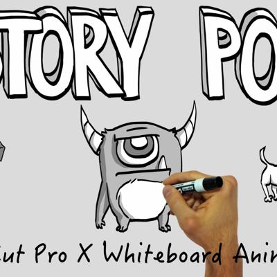 Cover art for Story Pop for FCP X Whiteboard Animations
