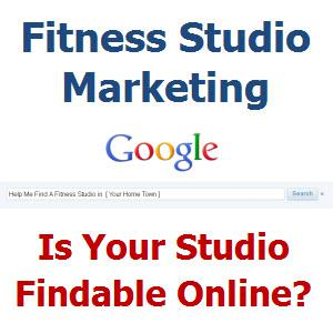 Fitness Studio Marketing | Yoga, Pilates and Spinning Indoor Cycling Studios Learn Local Search Techniques to Profitability Market their studios.