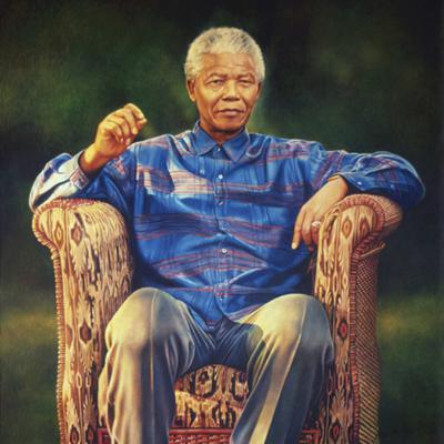 Cover art for #7 'Painting Mandela's portrait' - Cyril Coetzee talking with Keith Struthers