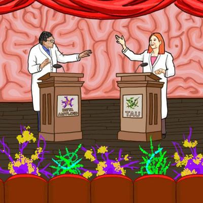 Cover art for Episode #6 - Choosing scientific sides in the fight against Alzheimer's