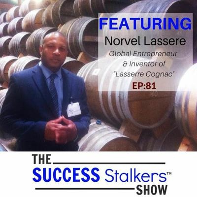 Cover art for 81: Entrepreneur and Inventor Norvel Lassere Shares His Success Story