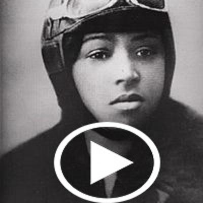 Cover art for Bessie Coleman: First Black Woman Pilot