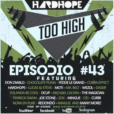 Cover art for HardHope - Too High Episodio #43