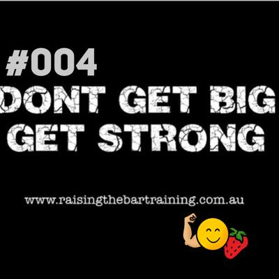 Cover art for Getting Strong With Calisthenics - Raising The Bar #04
