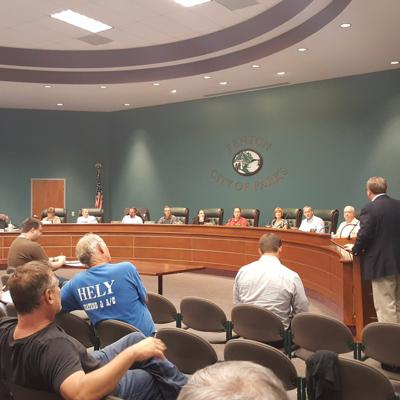 Cover art for Flooding Issues Take Center Stage At City of Fenton Meeting
