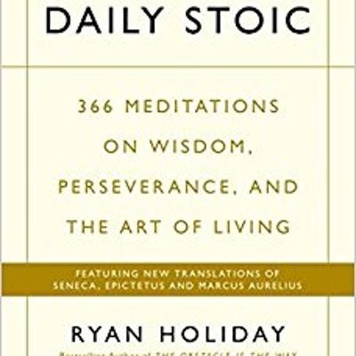 Cover art for #076. Book Review. The Daily Stoic