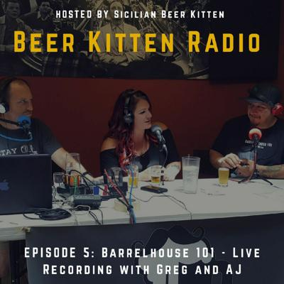 Cover art for BKR - Episode 5: Barrelhouse 101 - Live Recording with Greg and AJ