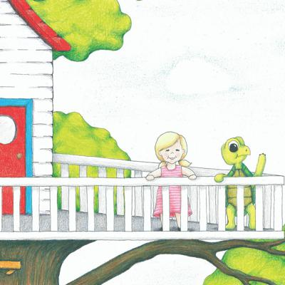 Cover art for Introducing Annabel and Turtle