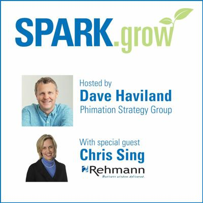 Cover art for SPARK.grow Podcast: Chris Sing
