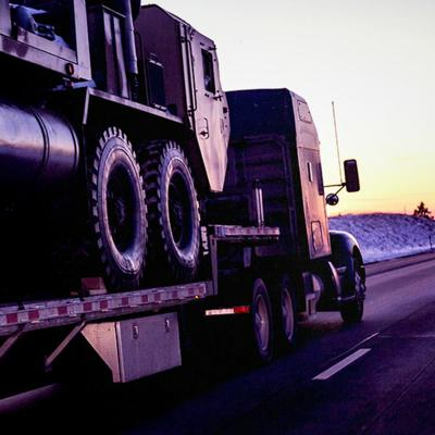 Cover art for Military to Trucking