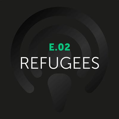 Cover art for EP:02 : David Nachfolger discusses our attitude towards refugees with Dr. Marina Sharpe.