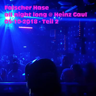 Cover art for Falscher Hase - All night long at Heinz Gaul - 05-10-2018 - Teil 2