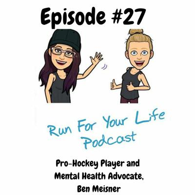 Cover art for Pro Hockey Player and Mental Health Advocate, Ben Meisner