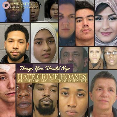 Cover art for Hate Crime Hoaxes ft. Wilfred Reilly
