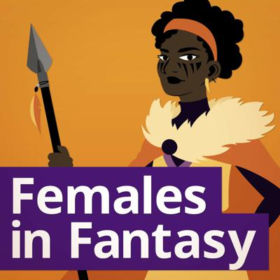 Cover art for Dark Female Characters with Kathrin Hutson