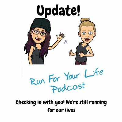 Cover art for We're still running for our lives