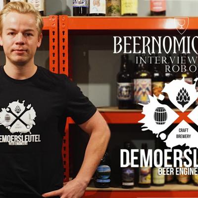 Cover art for Beernomicon LX - Interview with Rob of De Moersleutel