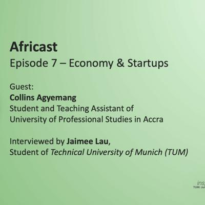 Cover art for Ep7 - Economy and Startups