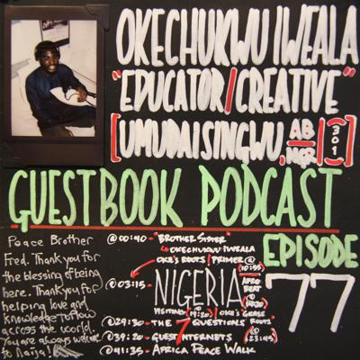 Cover art for 0077 Okechukwu Iweala (Educator/Creative)