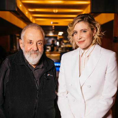 Cover art for PODCAST: Little Women Q&A with Greta Gerwig + Mike Leigh