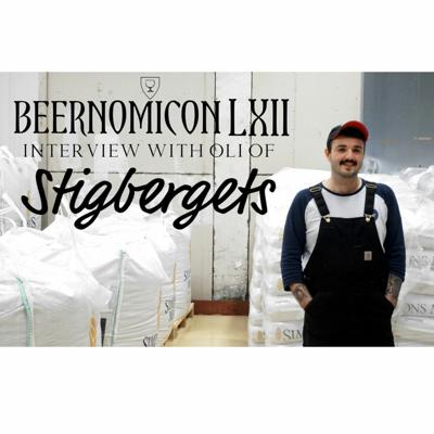 Cover art for Beernomicon LXII - Interview with Oli of Stigbergets