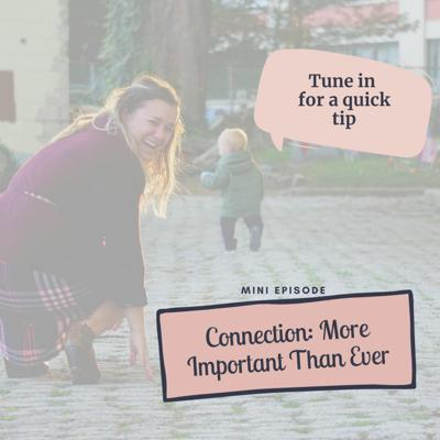 Cover art for Mini Episode #9: Connection: More Important Than Ever