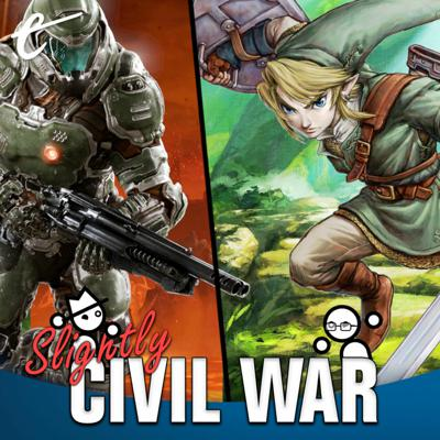 Cover art for Would Link Beat Doomguy In A Fight?