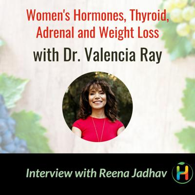Cover art for Women's Hormones, Thyroid, Adrenal and Weight Loss with Dr. Valencia Ray