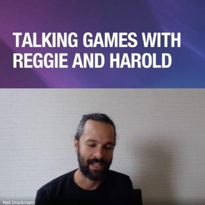Cover art for Neil Druckmann And Siobhan Reddy Join Talking Games With Reggie And Harold