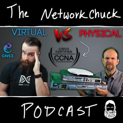 Cover art for CCNA Lab BATTLE!! -- GNS3 Vs Physical - Ft. Jeremy Cioara