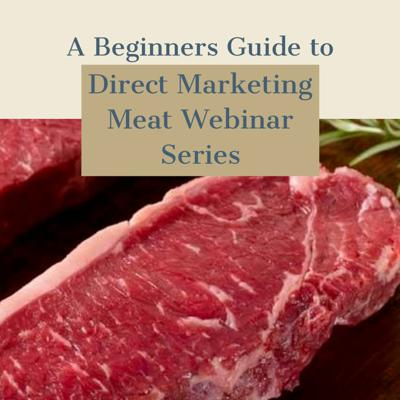 Cover art for Direct Marketing Meat Webinar Series