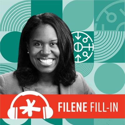 Cover art for Filene Fill-In Ep. 65: Introducing New DEI Center Fellow Dr. Quinetta Roberson