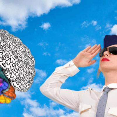 Cover art for Hey Brain, Is Your Pilot or Flight Attendant Talking To You?