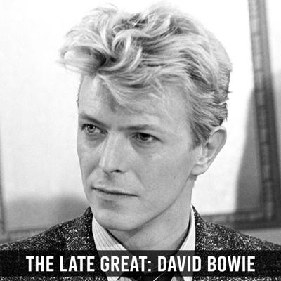 Cover art for The Late Great: David Bowie