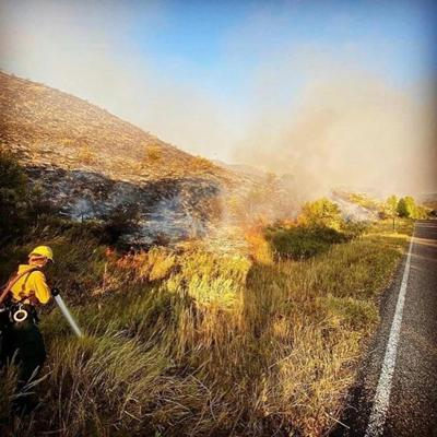 Cover art for Jackson Today | Fire Crews Act Fast to Contain South Park Fire