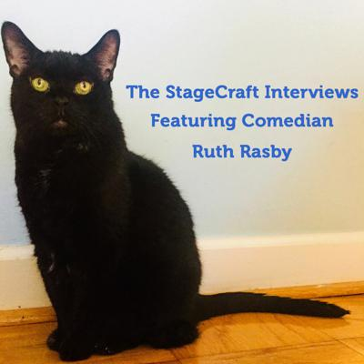Cover art for The StageCraft Interviews with Alex & Don featuring comedian Ruth Rasby