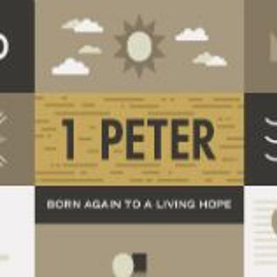 Cover art for 1 Peter 1.3 - 5- - Born Again To A Living Hope - -Edwardsville FBC