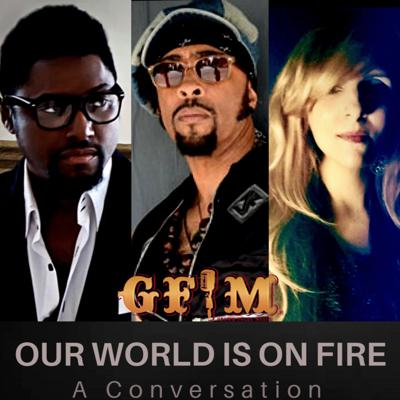 Cover art for Our World Is On Fire