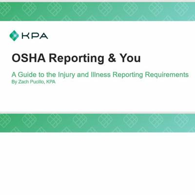 Cover art for OSHA Reporting and You