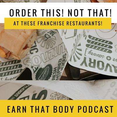Cover art for #190 Order This! Not That! At These Franchise Restaurants.