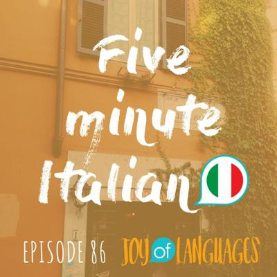 Cover art for #86: PIACERE in Italian: the ultimate guide to talking about things you like