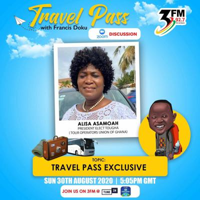 Cover art for TRAVEL PASS EXCLUSIVE WITH ELISA ASAMOAH