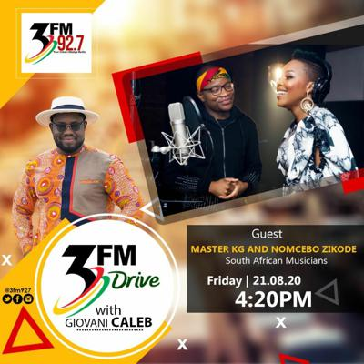 Cover art for Master KG And Nomcebo Zikode Interview On 3FM Drive
