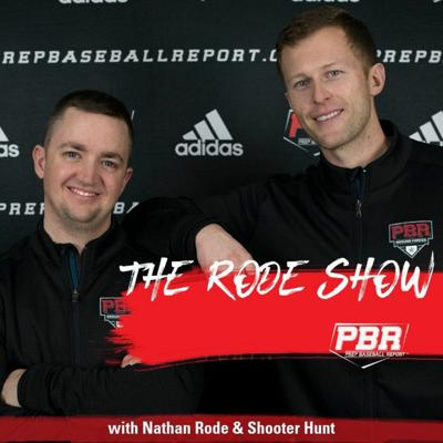 Cover art for The Rode Show Podcast: Draft Pitchers On Trackman