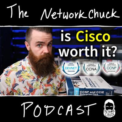 Cover art for should you get a Cisco certification? CCNA? CCNP? // A DEBATE (feat. the Packet Thrower)